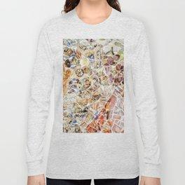 Mosaic of Barcelona IV Long Sleeve T-shirt