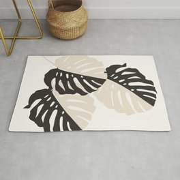 Monstera Delicious #1 #minimal #tropical #decor #art #society6 Rug