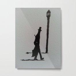 Walking Home, London, 1887 Metal Print