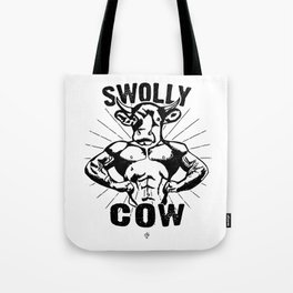Swolly Cow  Tote Bag