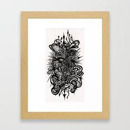 Doodlin Framed Art Print