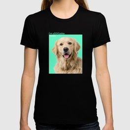 Im aDOGable Golden Retriever T-shirt