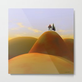 Toscana Two (part of diptych) Metal Print
