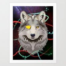 Odinwolf Art Print