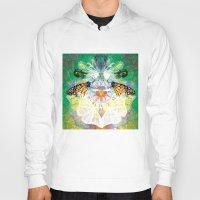 clockwork Hoodies featuring Clockwork Butterfly by VivianLohArts