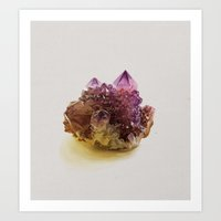 crystal Art Prints featuring Crystal by Kemi Mai