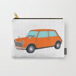 Orange Mini Cooper Carry-All Pouch