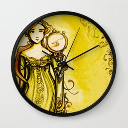 Cymbeline - Shakespeare Folio Illustration Wall Clock