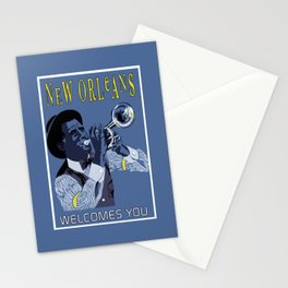New Orleans welcomes you Stationery Cards