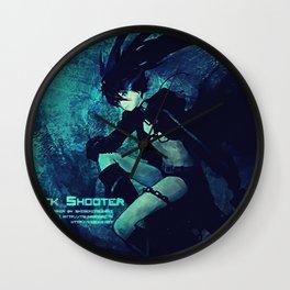 Black Rock Shooter Wall Clock