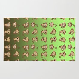Funny Monkeys Rug
