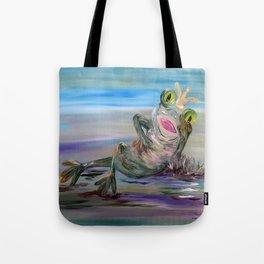 Frog Princess Tote Bag