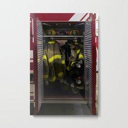 Fire Stations 2 Metal Print