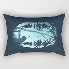 Lonely Spirit Spirited Away Rectangular Pillow