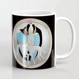 Greyhounds 1920's Coffee Mug