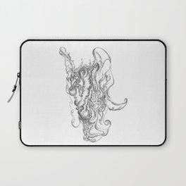 Abstract Santa Claus Laptop Sleeve