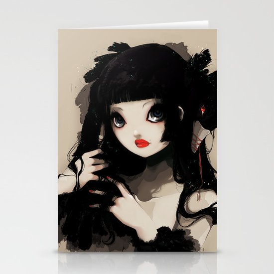 L'Oiseau silence Stationery Cards