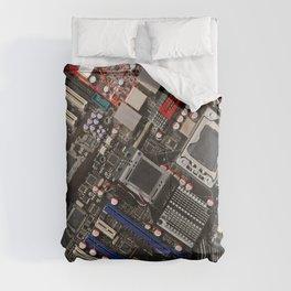 Computer motherboard Comforters