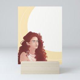 Ginger girl Mini Art Print