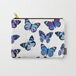 You Give Me Butterflies... Blues Palette Carry-All Pouch