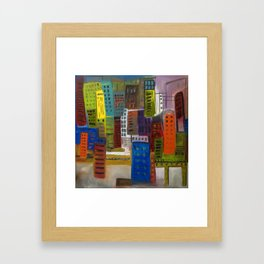 Compact Living Framed Art Print