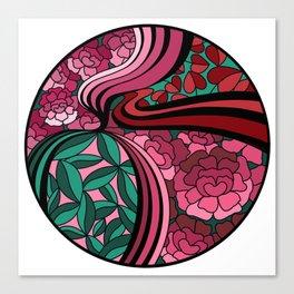Floral Unity Canvas Print