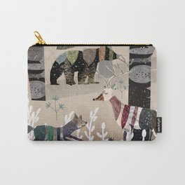 Forest in Sweater Carry-All Pouch