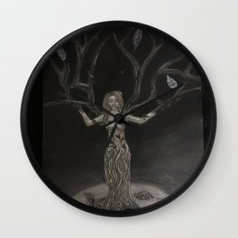 The Creation of Women Wall Clock