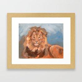 Lion King Framed Art Print
