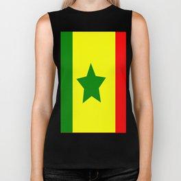 Flag of Senegal Biker Tank