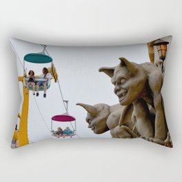boardwalk gargoyles Rectangular Pillow