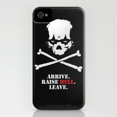 Arrive. Raise Hell. Leave. Slim Case iPhone (4, 4s)