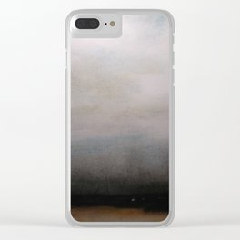Vastness Clear iPhone Case