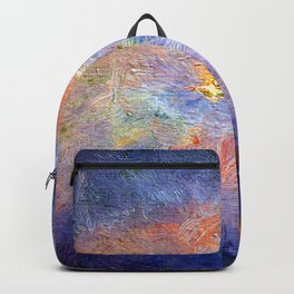 Childe Hassam Winter Midnight Backpack