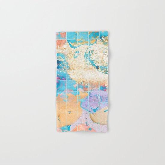 Mosaic Paint Spill V2 #society6 #decor #buyart Hand & Bath Towel