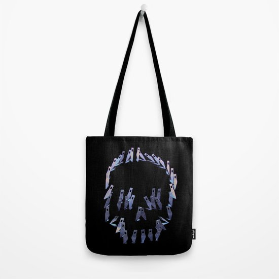123. Blade Skull Tote Bag