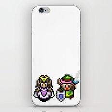 Zelda and Link iPhone & iPod Skin