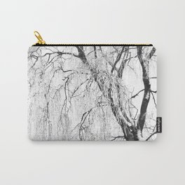 White snow tree Carry-All Pouch
