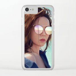 G.E.M. 倒數 Tik Tok Clear iPhone Case