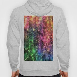 The End Of The Rainbow Abstract Hoody