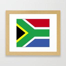 South Africa Flag (1994) Framed Art Print