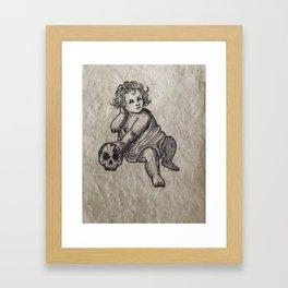 The Cherub Framed Art Print