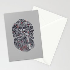 Madame Death Stationery Cards