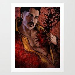 Dragon Age Inquisition - Dorian Pavus - Thorn Art Print