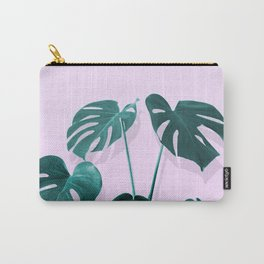 Monstera Palm on Musk Carry-All Pouch