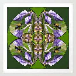 Garden Community Mandala Art Print