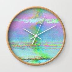 08-24-89 (Digital Drawing Glitch) Wall Clock