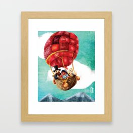 Le Tour du monde en quatre-vingts jours Framed Art Print