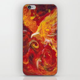 Pheonix Bright  iPhone Skin