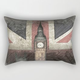 Big Ben United Kingdom Rectangular Pillow